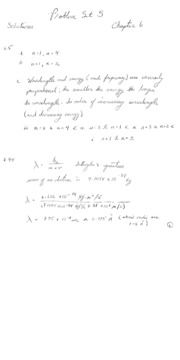 Chemistry - The Central Science PS5 Answers