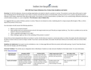 MKT 500 Milestone One Guidelines and Rubric(1)
