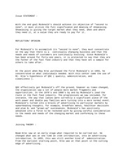 mcdonalds and its crisis 2 essay Compare and contrast of two company's extracts from this document introduction compare and contrast introduction to tesco tesco plc specialises in areas such as.