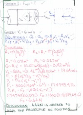 Worked Examples on Linear Momentum