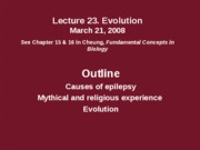 Lec23 03_21_08 Evolution