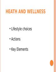 Heath and Wellness.pptx