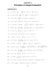 Calculus Early Transcendentals Solutions Manual Chapter 08