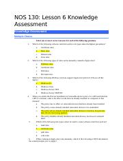 NOS 130-Lesson 6 Knowledge Assessment-Blank.docx