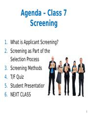 Class 7 - Screening Slides.pptx