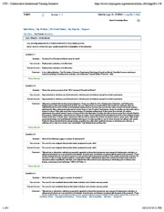 Quiz 05- Alternatives