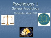 Psych 1 General Psychology Lecture 10 Piaget