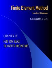 CHP-12 FEM FOR HEAT TRANSFER PROBLEMS.ppt