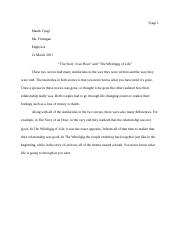 Short Essay Draft