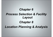 Chapters 6 & 8 Lecture Power Point Slides