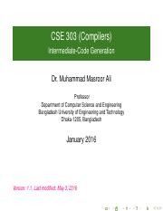 cse303slides06intermediatecodegeneration