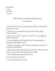 Self-Generated Frequently Asked Questions.docx