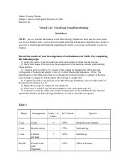 Classifying using biotechnology.doc