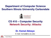 NetworkSecurity-Attacks