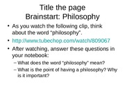 three chinese philosophies ppt