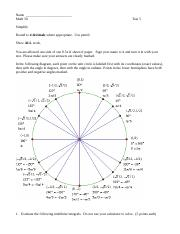 Revised Math 50 Practice test 5