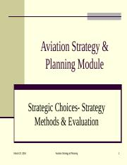 Chap 3-2 starategic choice- strategy methods and evaluation.ppt