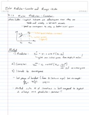 15-Euler Predictor-corrector and Runge-Kutta
