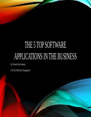 The 5 Top Software Applications in the Business.pptx