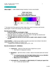 CH 9 - Lighting Systems Notes_StudyGuide