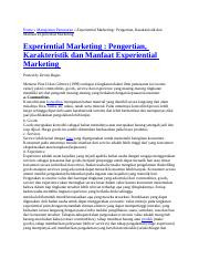 experiential marketing.docx