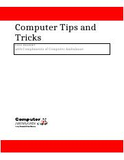 Computer tips and tricks 2