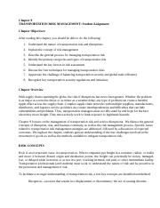 Transp 7e Ch 9 Student Assignment Risk Management.doc