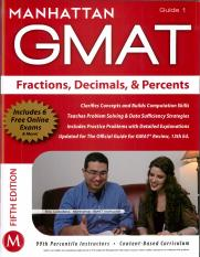 Guide 1 - The Fractions, Decimals, & Percents Guide