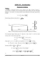 Aerodynamics Assignment Help | Aerodynamics Homework Help