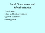 Lecture 15--state, local and growth