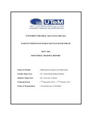 INDUSTRIAL TRAINING TECHNICAL REPORT.pdf