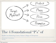 PM Foundation 4 Ps Place  Promotion