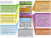 nutritional facts label