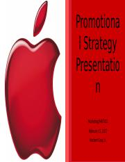 Assignment - Promotional Strategy Presentation Template (3).pptx