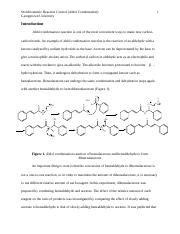 aldol lab Aldol1 organic synthesis: aldol condensation reaction techniques required: filtration (vacuum), recrystallisation, melting point determination other documents: experimental procedure, report template, spectra introduction in an aldol addition reaction an enol or enolate of an aldehyde or ketone reacts with a second.