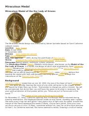 Miraculous Medal.docx