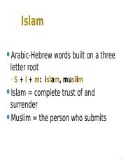 04 - 1710 Islam 1 Students.ppt