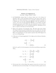 PHYS 1650 Spring 2013 Assignment 2 Solutions
