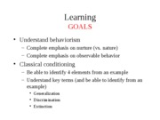 10 - Learning