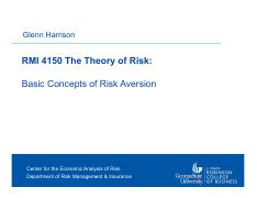 Harrison -- RMI 4150 Theory of Risk 2 -- Basic Concepts of Risk Aversion.pdf