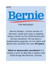 What is democratic socialism