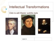 Intellectual Transformations