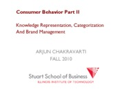 Marketing Management Lecture WEEK 4 FALL 2010 CB PART 2
