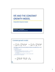 PE+ratios+_+the+Constant+Growth+Model+Class+Notes