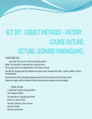 ECT 307.pptxTEACHING METHODS IN HISTORY