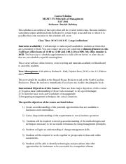 Management 371 Fall  2016 syllabus-1