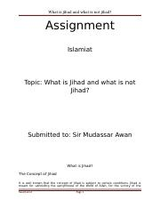 Assignment jihad.docx