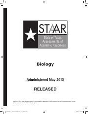 STAAR-EOC-May2014Test-Bio - STAAR State of Texas ...