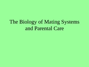 5Mating Systems