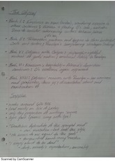 Humanities 2001 Lit Notes Odyssey.